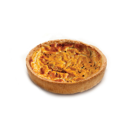 Vegetable Quiche tomato puree, red and green peppers , onions 125 mm Ø