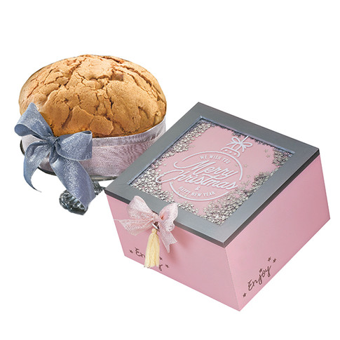 """The """"Stars"""" hatboxes Sugar iced Panettone 750gr"""