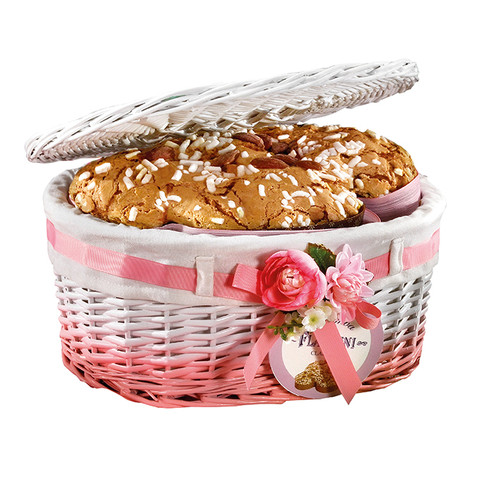 CLASSIC COLOMBA (The oval baskets with lid)