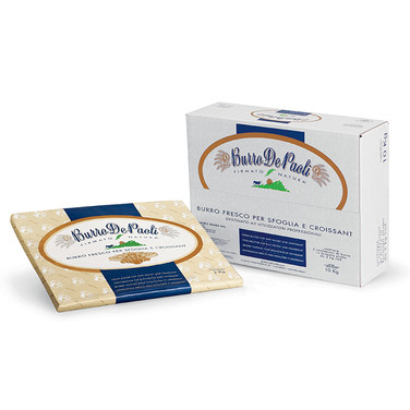 PASTRY FLAT SHEET BUTTER (82% Fat) 2Kg - 5 pcs per box