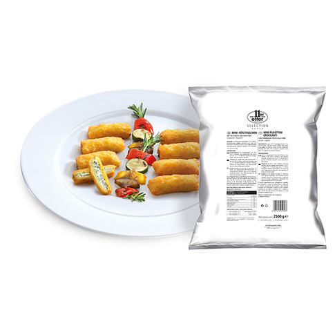 MINI ROSTI POCKETS FILLED WITH CREAM CHEESE & HERBS