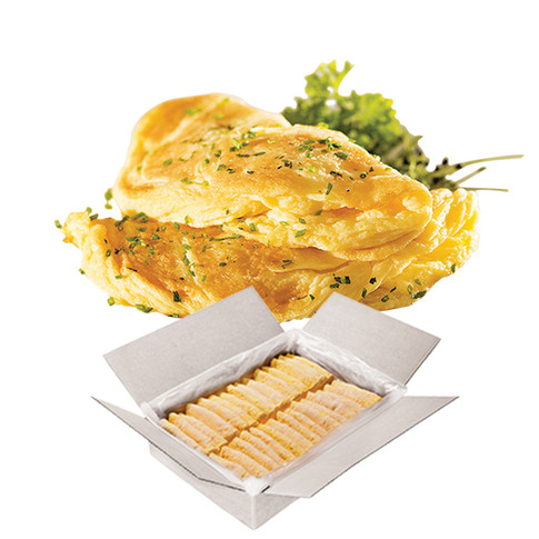 GOURMET OMELETTE WITH CREAM CHEESE WITH HERBS