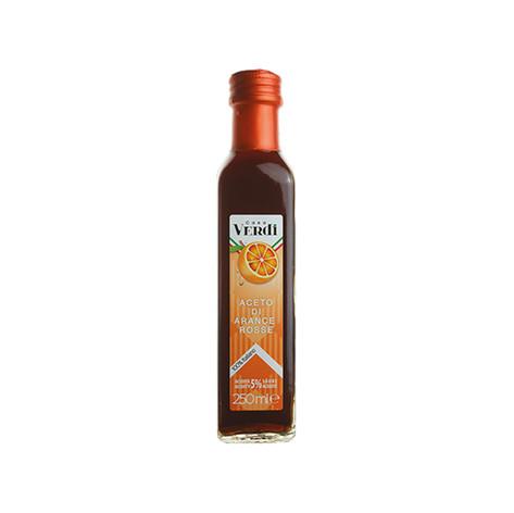 """BLOOD ORANGE VINEGAR - """"CASA VERDI"""" 5% acidity"""