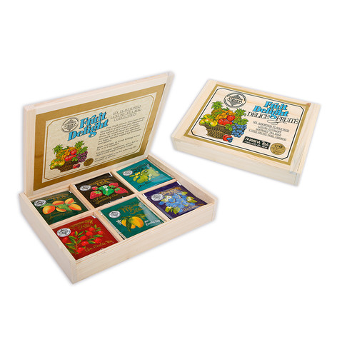 FRUIT DELIGHT COLLECTION - 6 ASSORTED FRUIT FLAVOURS TEA