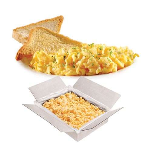 SCRAMBLED EGGS, MIDDLE-GRAINED