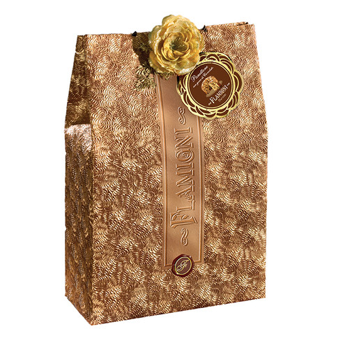 Handwrapped sugar iced Panettone with chocolate drops 1kg