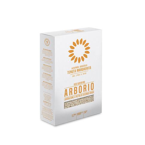 STONE GROUND ARBORIO RICE VACUM PACK 1KG