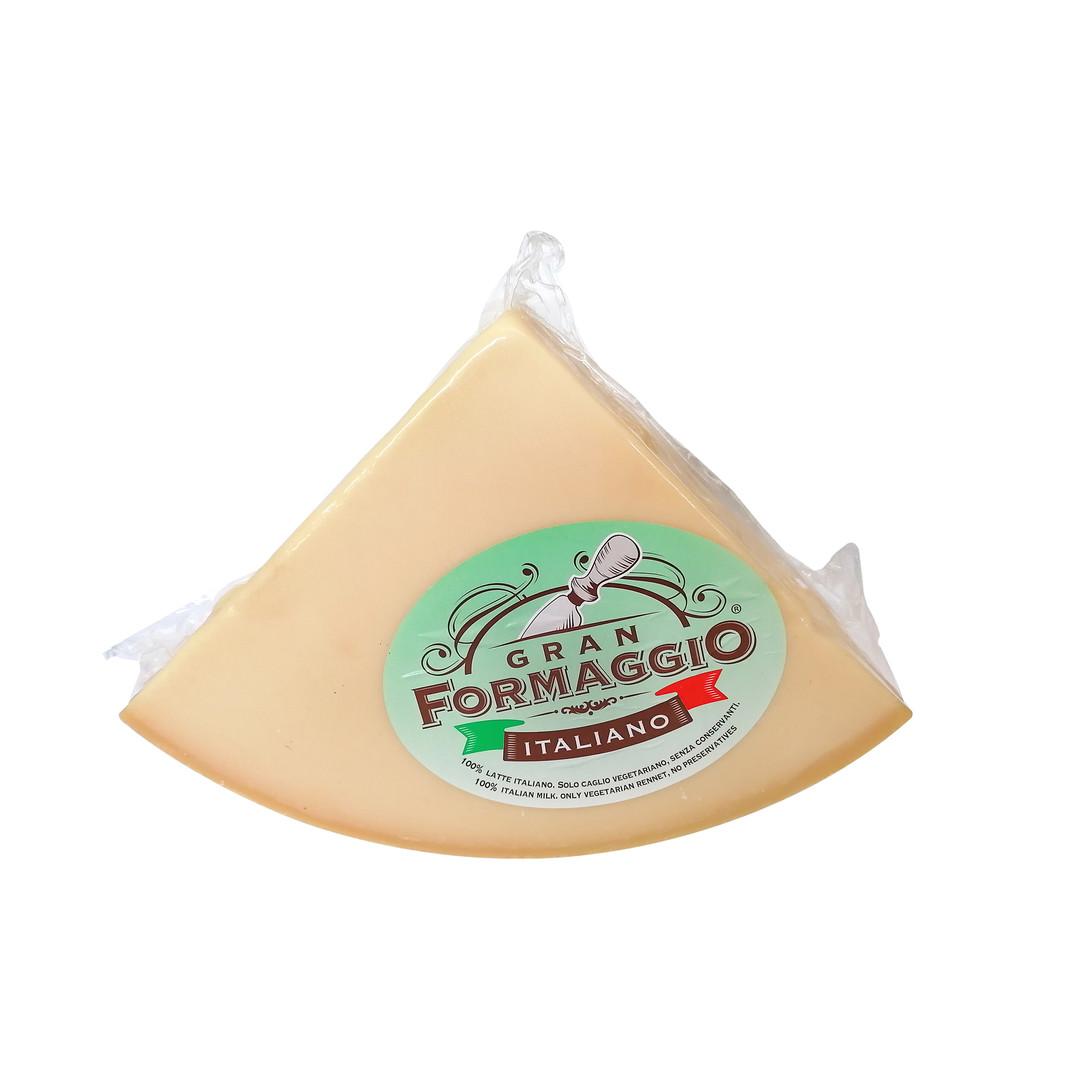 GRAN FORMAGGIO ITALIANO 1/8 APPROX 4.5 kg VACUUM