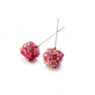 RASPBERRY CHOUX LOLLIPOP