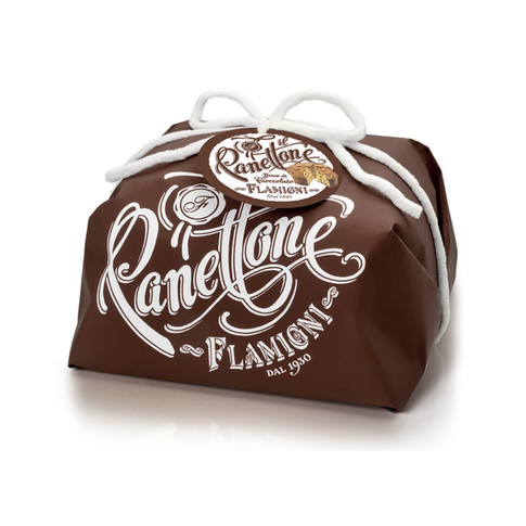 PANETTONE HANDWRAPPED WITH CHOCOLATE DROPS 1KG
