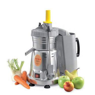 SELF-CLEANING JUICER WITH DOUBLE CLICK LEVER