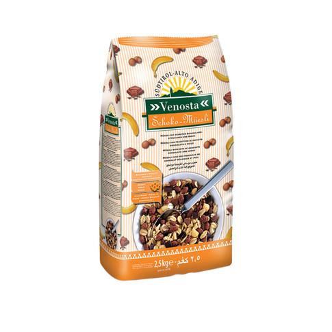 MÜESLI WITH CHOCOLATE AND HONEY