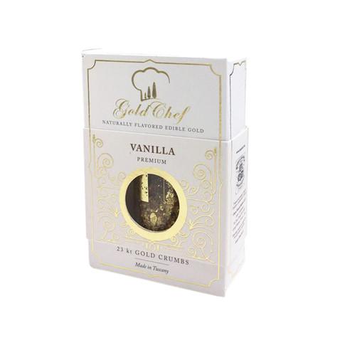 FLAVORED EDIBLE GOLD 23 KARAT VANILLA