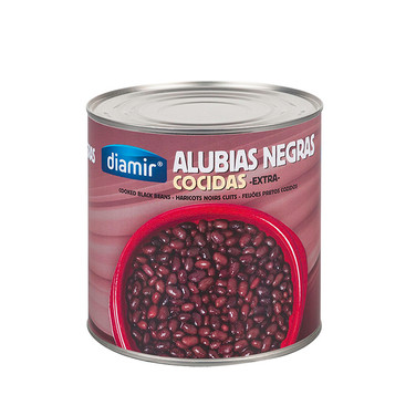 BLACK KIDNEY BEANS EXTRA 3kg CAN