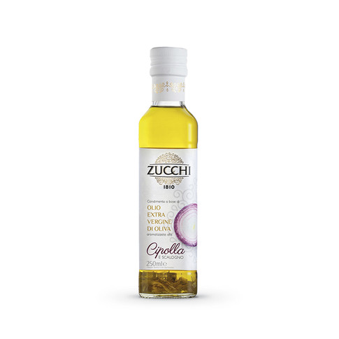 ONION FLAVOURED EXTRA VIRGIN OLIVE OIL - 250ml GLASS BOTTLE