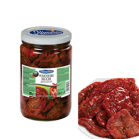 SUN DRIED TOMATOES, FLAVOURED