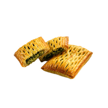 PUFF PASTRY TARTS FILLED WITH RICOTTA & SPINACH