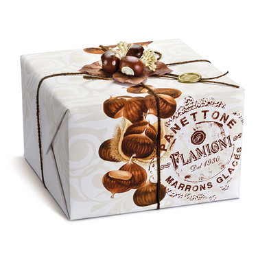 THE MARRONS GLACES PANETTONE IN GIFT BOX