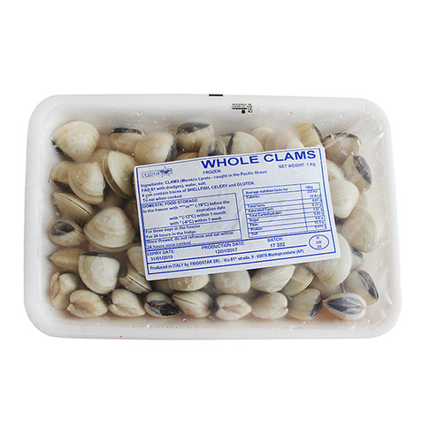 VACUUM SEALED CLAMS