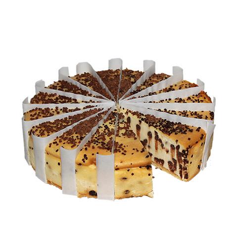CHOCOLATE CHIP CHEESE CAKE PRE-CUT