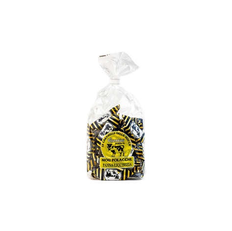 MOU CANDIES CREAM AND LICORICE - 270GR BAGS