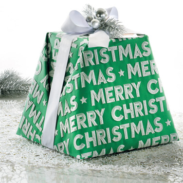 "THE ""MERRY CHRISTMAS"" PANDORIHANDWRAPPED"
