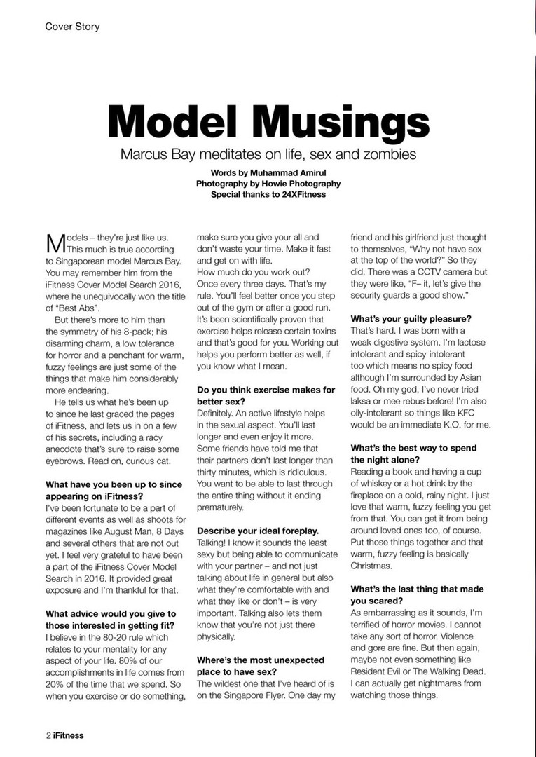 iFitness Issue 30 Page 1