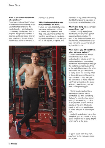 iFitness Issue 29 Page 5