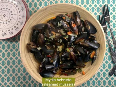 Mydia Achnista 'Steamed Mussels'