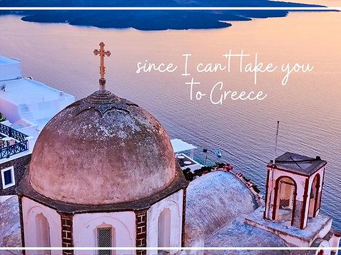 Greek Church Postcard Voucher
