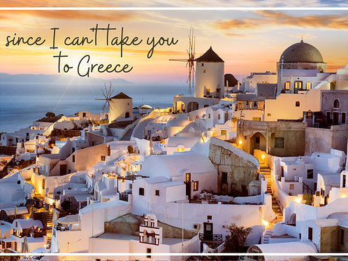 Greek Windmills Postcard Voucher