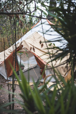 FURNISHED TENT