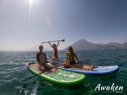 Awaken Your Creative Spirit Retreat - SUP in Lake Atitlan