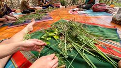 Awaken Your Creative Spirit Retreat - Preparing Our Plant Baths