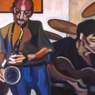 Jazz Saxophone and Guitar