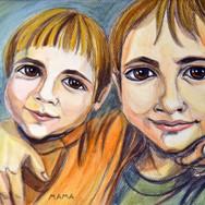 Dima and Ilya