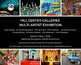 HILL CENTER GALLERIES MULTI-ARTIST EXHIB