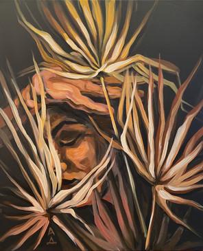 acrylic on canvas, 24x20