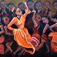Flamenco Crowd