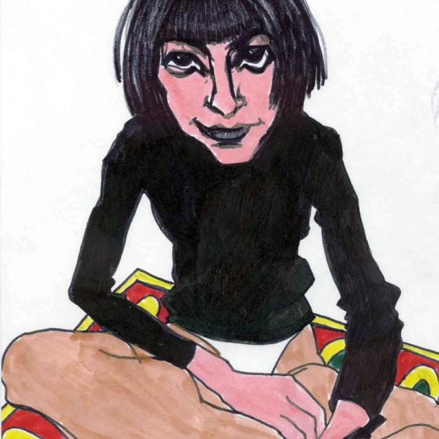 demovidova-self-portrait-in-black-drawin