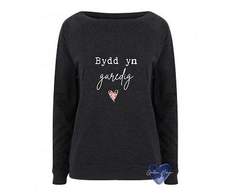 Siwmper Bydd yn Garedig sweater