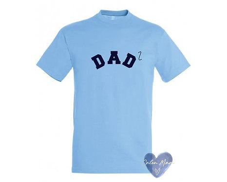 Crys  Dad a rhif/Dad number Tshirt