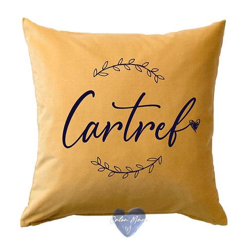"Clustog cartref/""Cartref""Cushion"