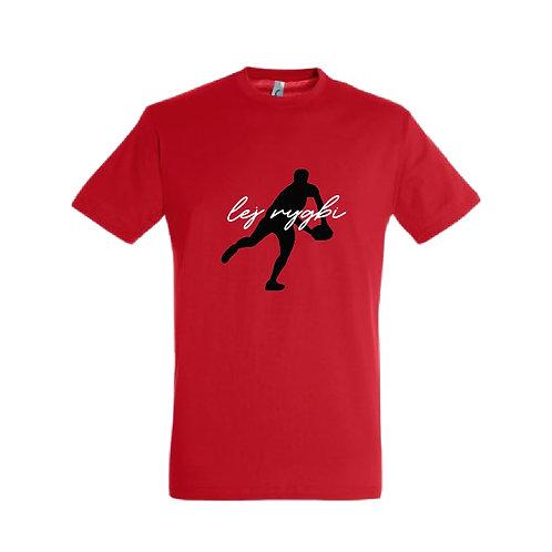 Crys T Dad rygbi/pd/Dad sport Tshirt