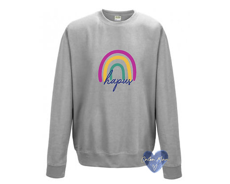 Siwmper Enfys/Rainbow Sweater