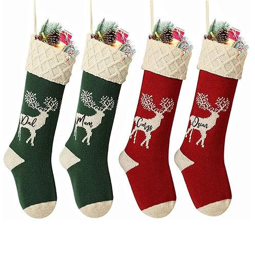 Hosan Gweu /Knitted stocking