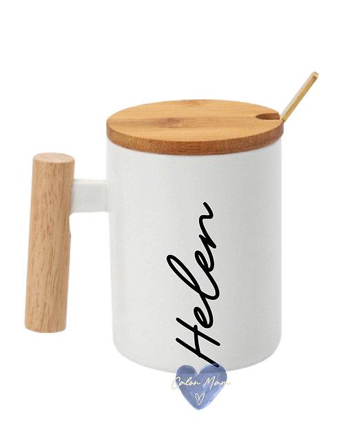 mwg a llwy/mug and spoon