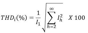 generalized formula of THDi(%)