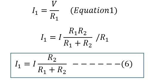 current divider formula