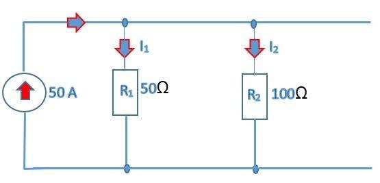 numerical problem  current  divider circuit diagram